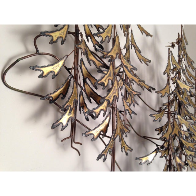 Curtis Jere Signed 1982 Alpine Trees Wall Sculpture - Image 9 of 11