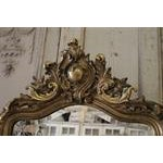 Early 20th Century Carved French Louis XV Style Giltwood Mirror For Sale - Image 5 of 5