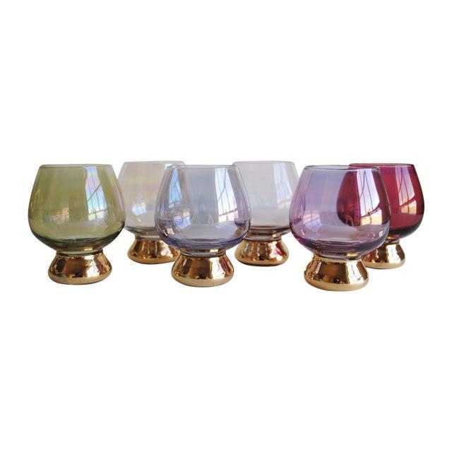 Vintage Cocktail Glasses, Set of 6 - Image 1 of 6