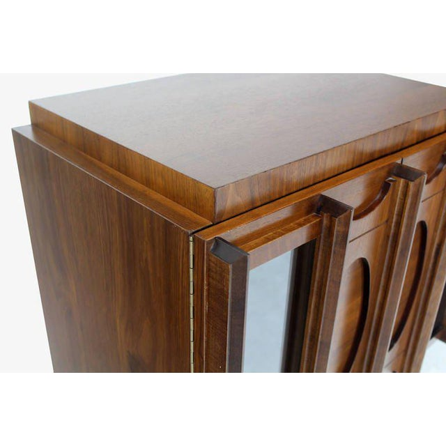 Mid-Century Modern Oiled Walnut Night Stand or End Table For Sale - Image 10 of 10