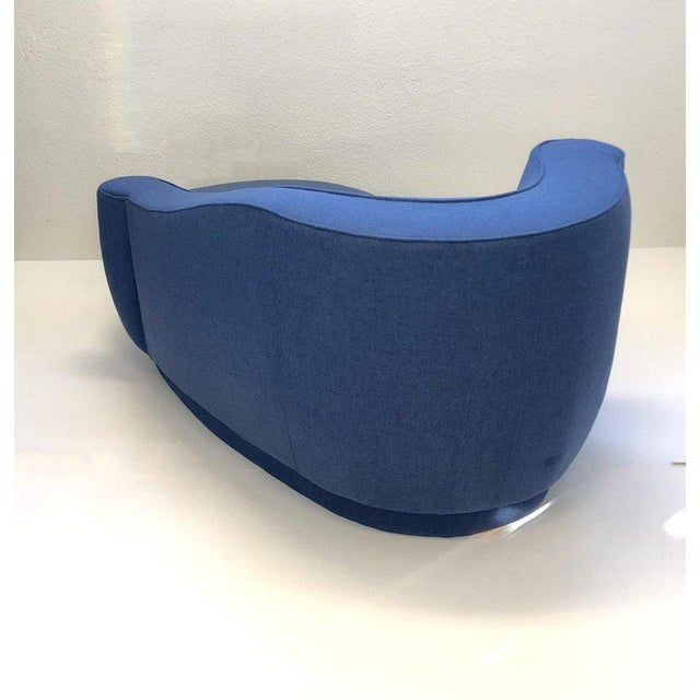 Modern Rare Corkscrew Chaise Lounge Attributed to Vladimir Kagan For Sale - Image 3 of 9