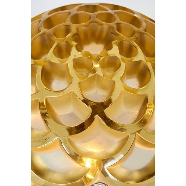 "Table Lamp With a Rene Lalique ""Rinceaux"" Shade For Sale In New York - Image 6 of 10"