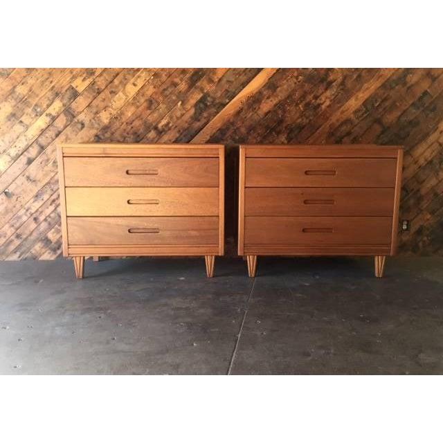 Mid-Century Refinished Mahogany Dresser - Image 7 of 7