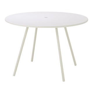 Cane-Line Area Table, White For Sale