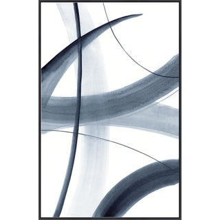 Kenneth Ludwig Print on Canvas, Rhythm in Blue III by Barclay Butera For Sale