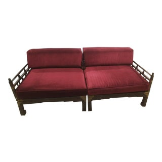 1940s Antique Chinese Daybed For Sale