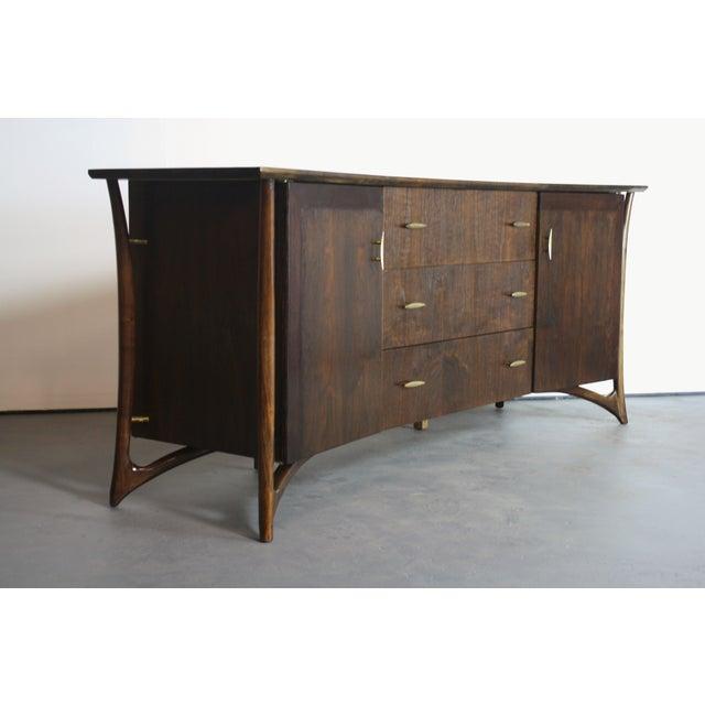 Piet Hein Sculptural Walnut Dresser Daniel Jones For Sale In Orlando - Image 6 of 11