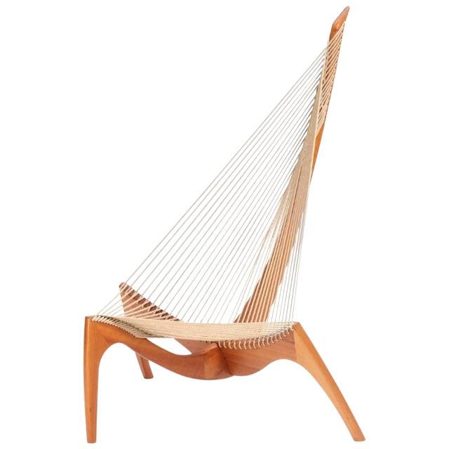 """1960s Vintage Jørgen Høvelskov """"The Harp"""" Chair For Sale"""