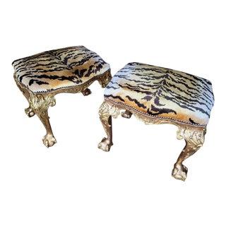 Pair of Rococo Stools