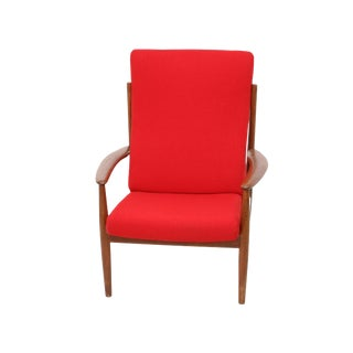 Grete Jalk Lounge Chair For Sale