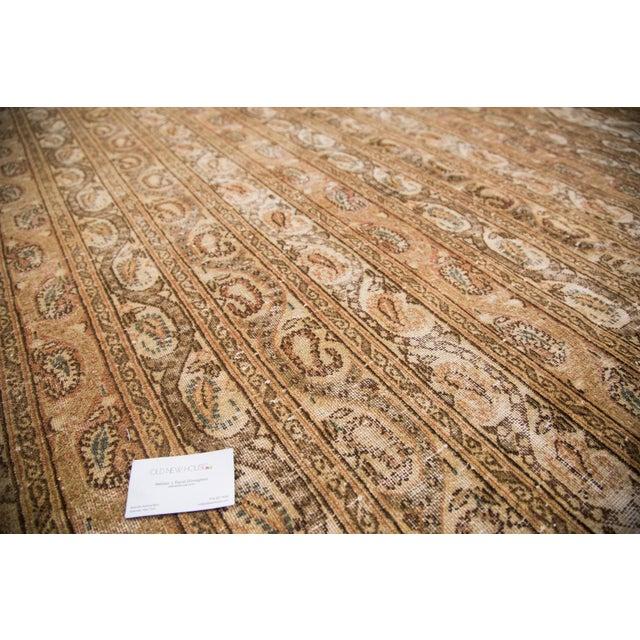"Vintage Distressed Qom Carpet - 10'2"" x 14'5"" - Image 6 of 6"