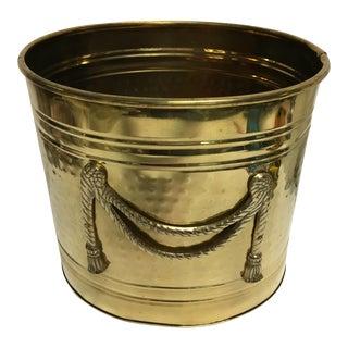 Deadstock Brass Trash Can