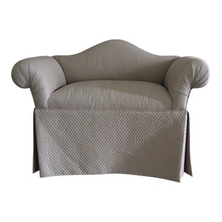 1990s Tan Traditional Settee For Sale