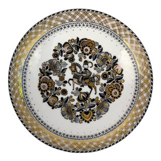 Steinbock Austria Porcelain Wall Plate For Sale