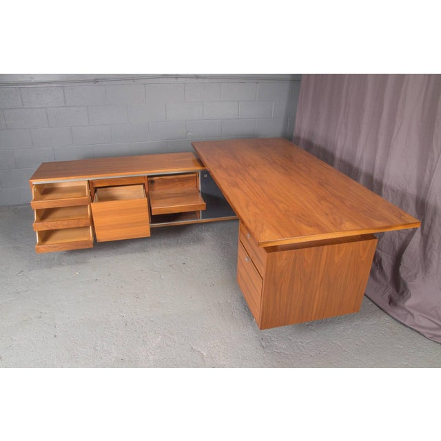 Executive L-Shaped Desk Unit by George Nelson for Herman Miller For Sale - Image 10 of 10