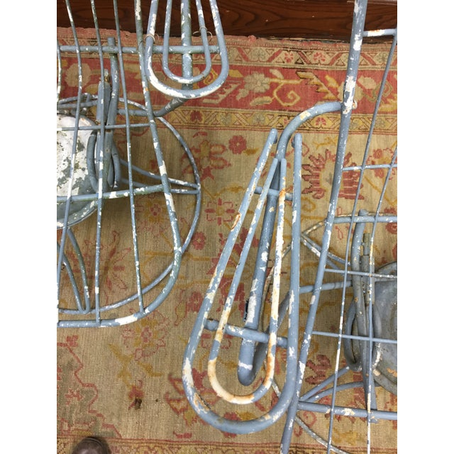 Metal 1960s Vintage Homecrest Mid Century Modern Iron Patio Chairs-a Pair For Sale - Image 7 of 8