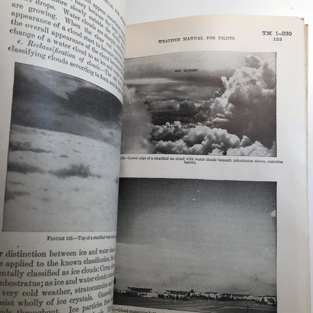 1940s 1940 War Department Weather Manual for Pilots For Sale - Image 5 of 11