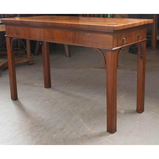 Dutch 18th Century Mahogany and Walnut Server For Sale In Baton Rouge - Image 6 of 13
