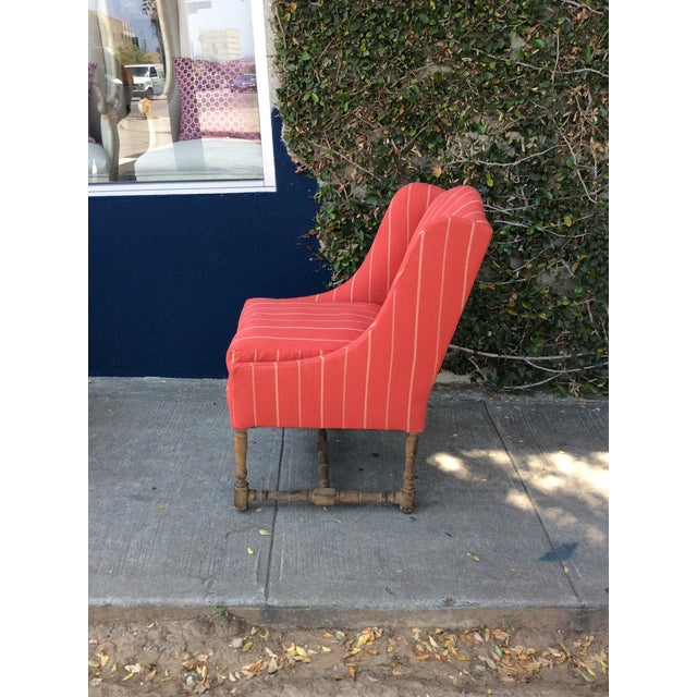Red Side Chairs - A Pair For Sale - Image 4 of 9