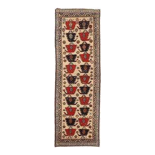 1930s Persian Runner Rug Sarab Design For Sale