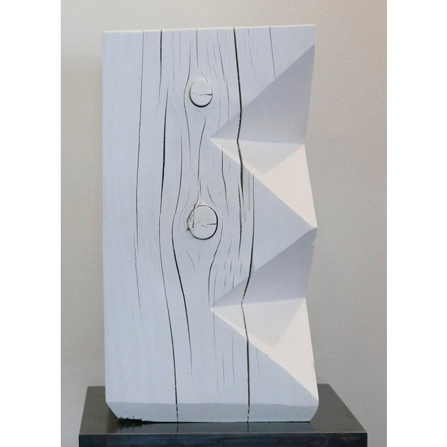 Abstract Bespoke Totem Stool For Sale - Image 3 of 6