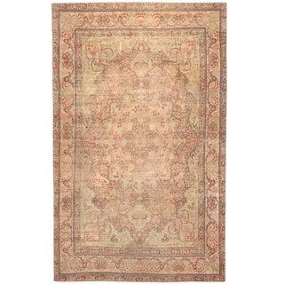 Antique 19th Century, Persian Lavar Carpet For Sale
