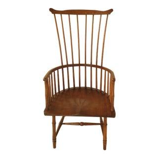 Millson English Style Custom Made Ash Windsor Chair