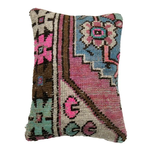 Vintage Rug Fragment Pillow - Image 1 of 3