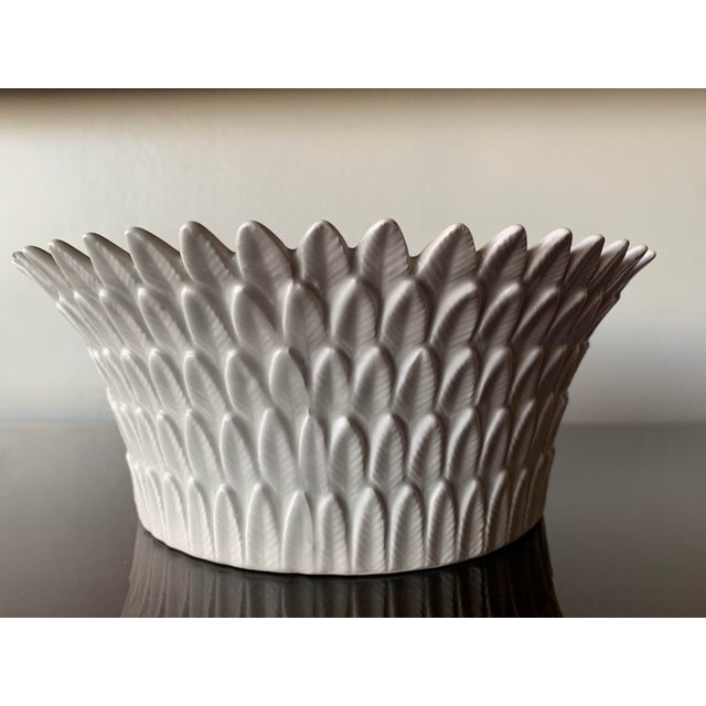 Fitz and Floyd Layered Leaf Dish For Sale - Image 12 of 12