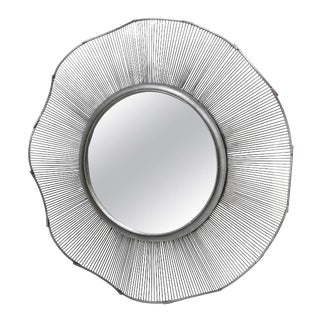 Brutalist Style Iron Hall Mirror