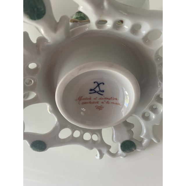Mid 20th Century Mid 20th Century Sevres Porcelain Swans - a Pair For Sale - Image 5 of 12