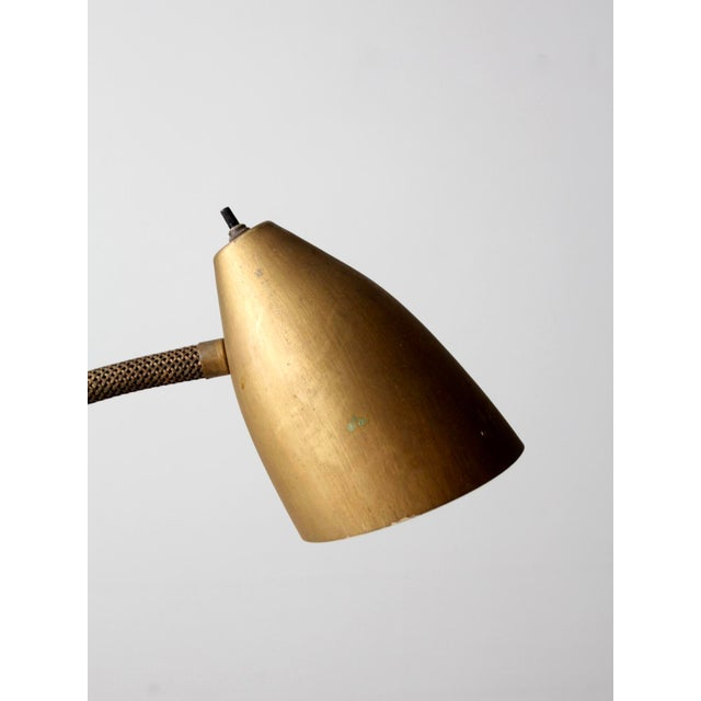 Mid-Century Gooseneck Table Lamp For Sale - Image 4 of 11