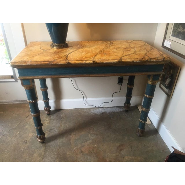 Italian 18th Century Italian Painted Table For Sale - Image 3 of 8