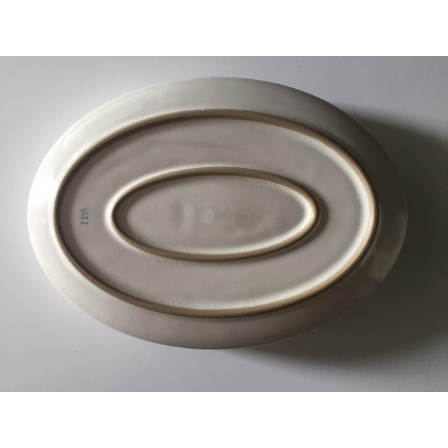 Mid-Century English Casserole/Plate - Image 4 of 8