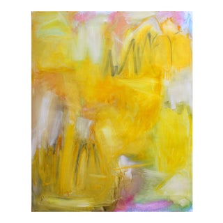 """""""Glory Days"""" by Trixie Pitts XL Abstract Expressionist Oil Painting For Sale"""