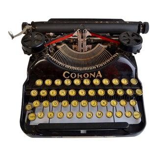 Vintage Corona Typewriter For Sale