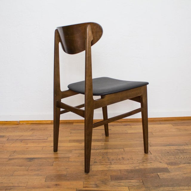 Yugoslavia Mid-Century Dining Chair For Sale - Image 5 of 10