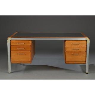 1970s Danish Modern Arne Jacobsen for Fritz Hansen Tanker Desk Preview