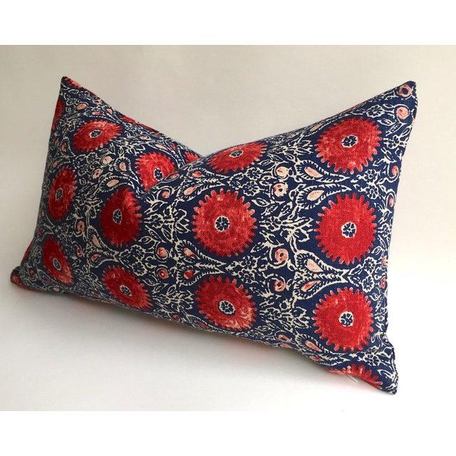 Indian Block Print Pillow - Image 3 of 6