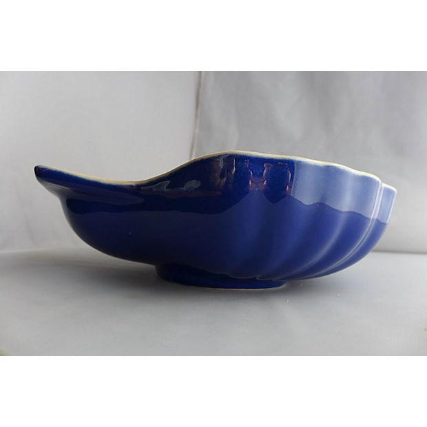 Vintage Nautical Porcelain Clamshell Serving Dish - Image 6 of 7