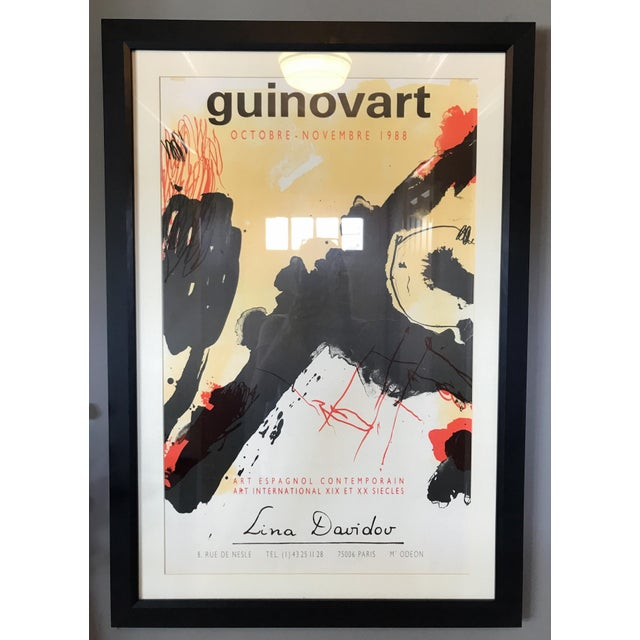1988 Guinovart at Lina Davidou Gallery Poster - Image 4 of 5