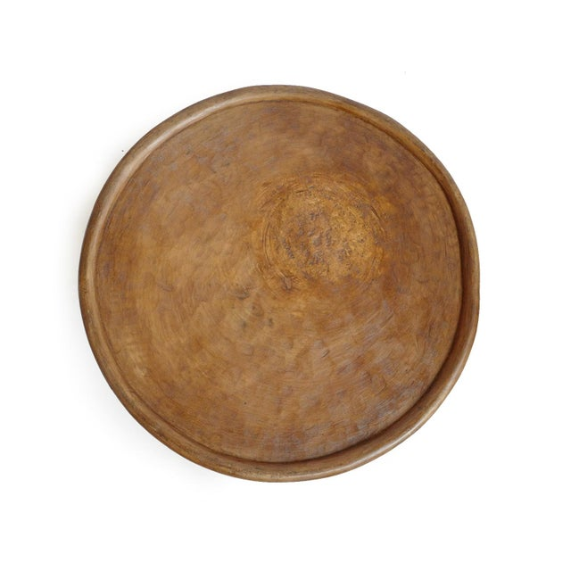 African Bamileke Wood Stool Table For Sale - Image 3 of 5