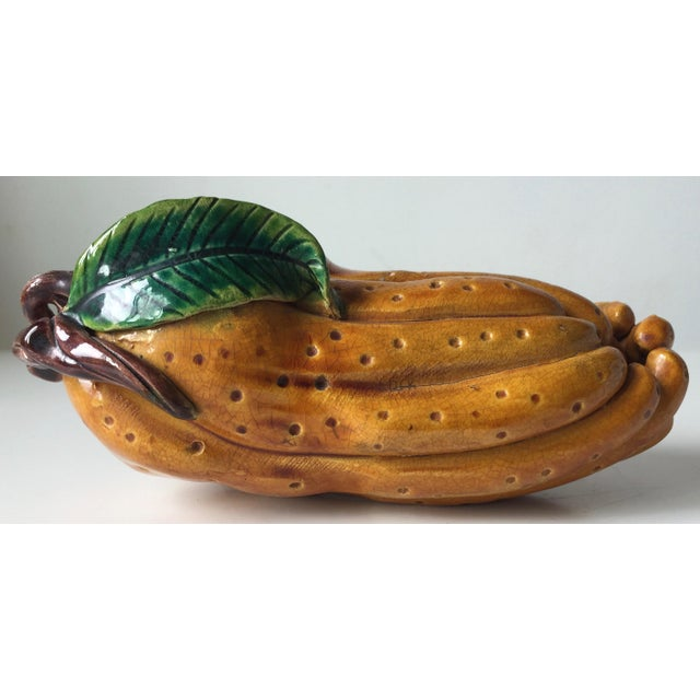 Antique Chinese Majolica Altar Fruit-Buddha's Hand For Sale - Image 9 of 10