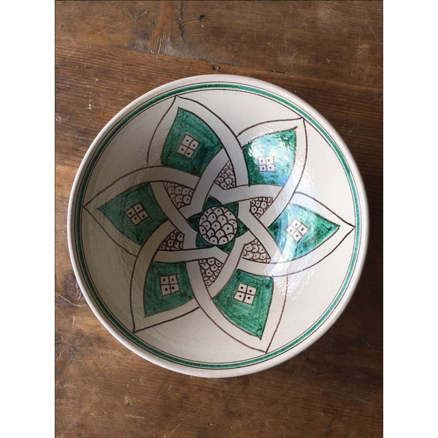 Stella Hand Painted Serving Bowl - Image 2 of 4
