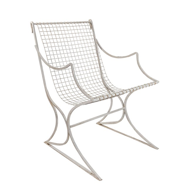 Salterini Mid-Century Modern White Metal Chairs - Set of 4 For Sale - Image 10 of 13