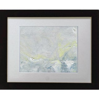 """""""Impressions III"""" Contemporary Impressionist Style Abstract Landscape Acrylic Painting, Framed For Sale"""