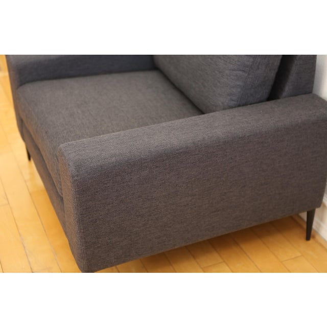 Contemporary Mid Century Modern Club Chair For Sale - Image 3 of 5