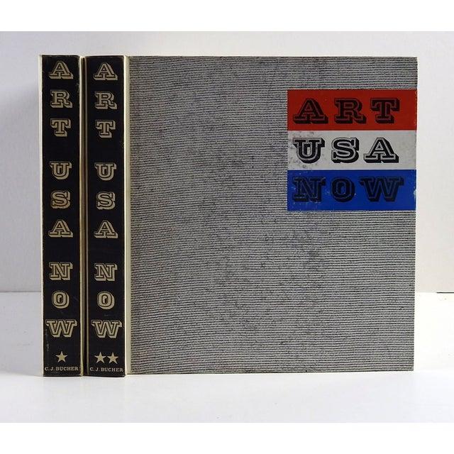 Art USA Now, two-volume set. Edited by Lee Nordness, text by Allen S. Weller. C.J. Bucher Ltd., Lucerne, 1962. Text on...