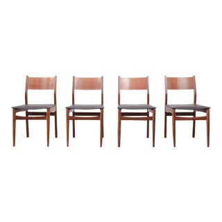 Mid-Century Dining Chairs - Set of 4