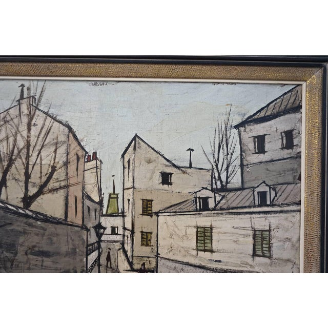 French Mid-Century Oil Painting by French Artist Charles Levier For Sale - Image 3 of 11